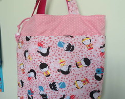 Lunch Bag kokeshis rosa