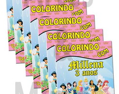Revista De Colorir Princesas