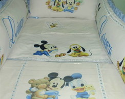 KIT BERÇO BABY DISNEY SUBLIMADO