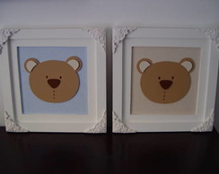 (DO 0046) Quadros decorativos urso