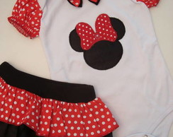 BLACK FRIDAY!! Conjunto Minnie para bebês (P) !!