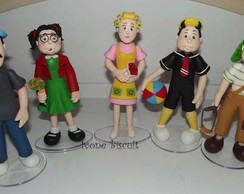 ENFEITE DE MESA TURMA DO CHAVES