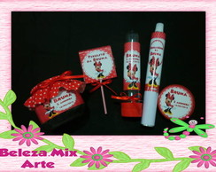Kit Personalizados Minnie Vermelha