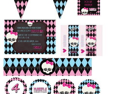 MONSTER HIGH Kit Digital Personalizado