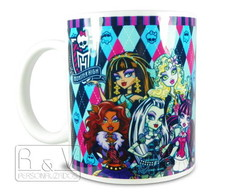 Caneca Personalizada Monster High M2