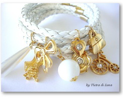 Bracelete Snow in Gold
