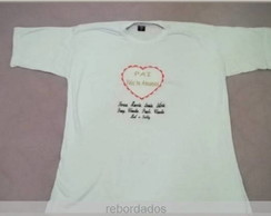 CAMISETA ADULTO BORDADA