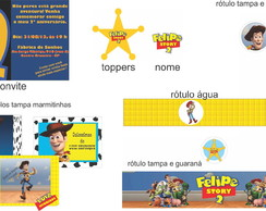 ARTE DIGITAL KIT FESTA Toy Story
