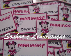 Tag Personalizado - Minnie