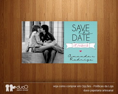 10 Ímãs Save the Date - Modelo 007