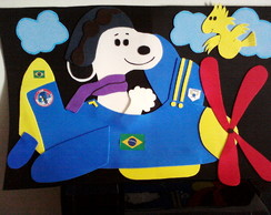 Painel Snoopy Voador
