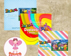 Rótulo Mini Trakinas Backyardigans