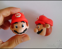 Chaveiro Super Mario head