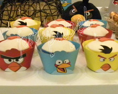 wrappers cup cake angry birds