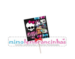 Capa Pirulito Monster High