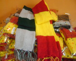 Kit festa cachecol infantil Harry Potter