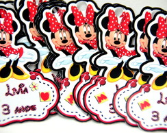 Tag minnie recorte especial