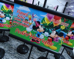 Mini Banner De Mesa Minnie Mickey