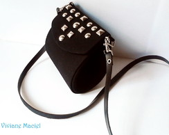 Mini Clutch - Tachinhas c/ alça grande
