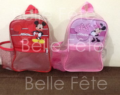 Mochila tema Mickey e Minnie