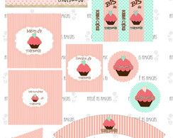 CUPCAKE - Kit Digital Personalizado
