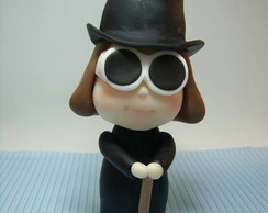 Boneco Johnny Depp - willy wonka