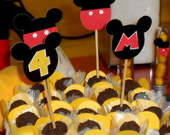 Topper para Doces Mickey Mouse