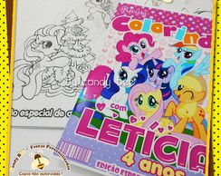 Revista Personalizada My Little Pony