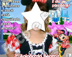 Convites - Revista - Minnie 10x15cm