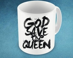 CANECA GOOD SAVE THE QUEEEN - 93842