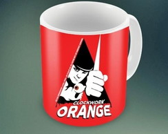 CANECA CLOCK ORANGE - 93803