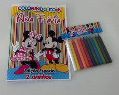 Kit Colorir - Disney