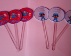 Toppers para cupcakes 3 cm