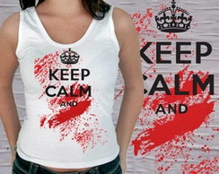 REGATA FEMININA KEEP CALM ...92188