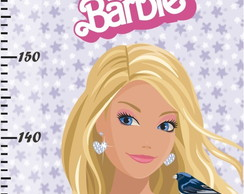 Barbie - Régua Do Crescimento - Rb-109
