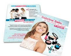 Panfleto institucional Yes! Cosmetics
