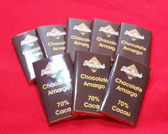 Tablete 70% Cacau Chocolate Belga