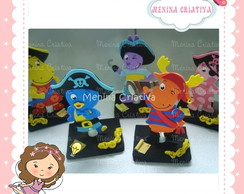 Enfeite Backyardigans Piratas