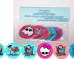 Monster High 15 Adesivos