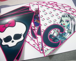 Bandeirolas Personalizadas monster high