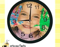 38cc52541fa Relógio de Parede Personalizado no Elo7