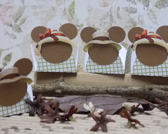 Safari Mickey ou Minnie [forminha doces]