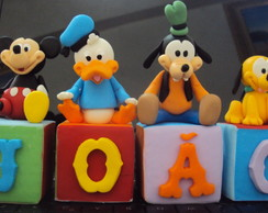 Cubos Turma do Mickey! Biscuit