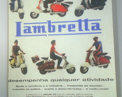 Placa Retro Lambretta