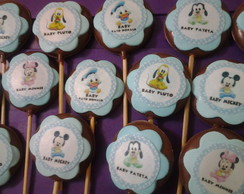 Pirulitos De Chocolate baby disney