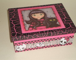Caixa Simples 15 x 21 - MONSTER HIGH