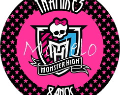 Rótulos Redondos - Monster High