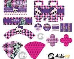 Festa personalizada - Monster High