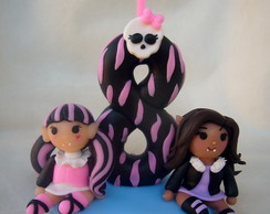 Vela personalizada Monster high
