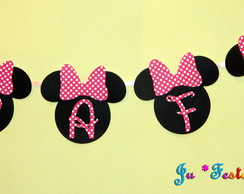 Varal Scrap Minnie ou Mickey